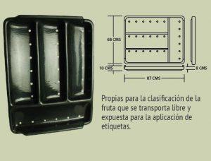 Plásticos-Medellín-Bandejas-008 ref 3a bandeja plana cuatro canales